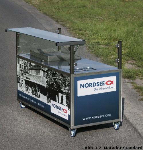 Imbissstand Mobile Verkaufstheke Nordsee