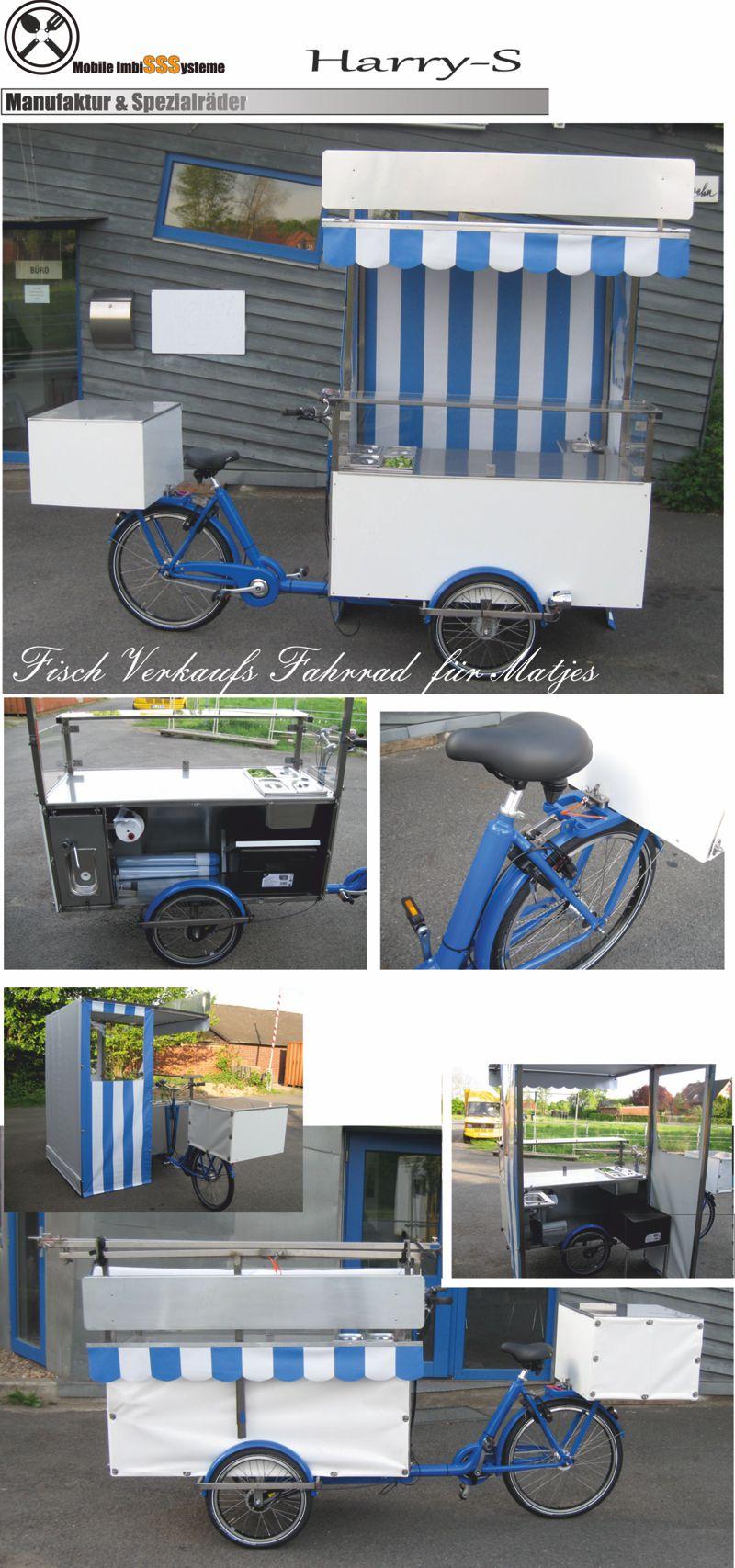 Fisch Verkaufs Fahrrad